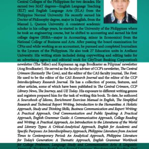 21st-Century Literature of the Philippines and the World