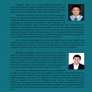 Oral Communication in Context for Senior High School