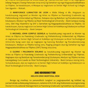 KOLAB: TUON SA KOLABORATIBONG PAGSULAT SA Filipino sa Piling Larang (Akademik)